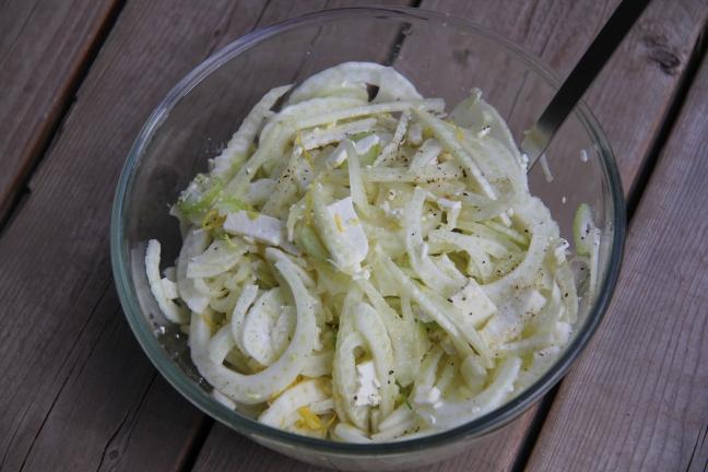 Salade de fenouil et feta