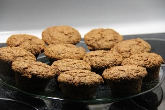 Muffins santé aux bananes